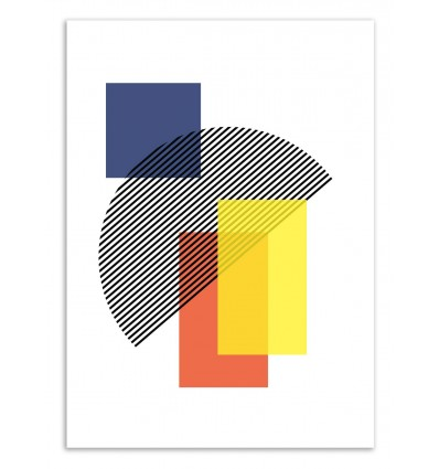 Art-Poster 50 x 70 cm - Abstract - The Native State