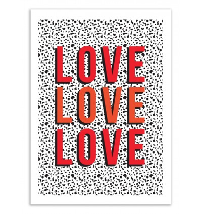 Art-Poster 50 x 70 cm - Love - The Native State