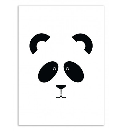 Art-Poster 50 x 70 cm - Panda - The Native State