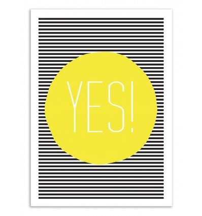 Art-Poster 50 x 70 cm - Yes - The Native State