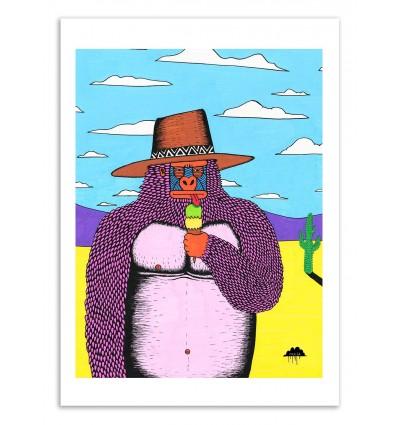 Art-Poster 50 x 70 cm - Sorbet Pete - Mulga
