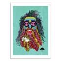 Art-Poster - Tommy Franklin Unicorn beard - Mulga