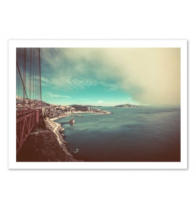 Art-Poster 50 x 70 cm - Bay view - Cascadia