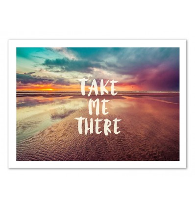 Art-Poster 50 x 70 cm - Take me there - Cascadia