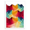 Art-Poster - Geometric color - Rui Faria