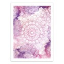 Art-Poster - Mandala watercolor - Rui Faria