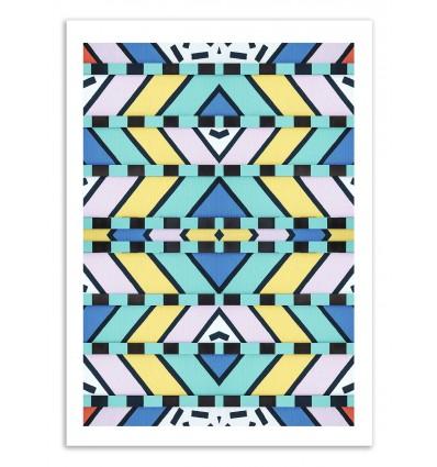 Art-Poster 50 x 70 cm - Memphis raines - Cascadia