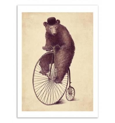 Art-Poster 50 x 70 cm - Morning ride - Eric Fan