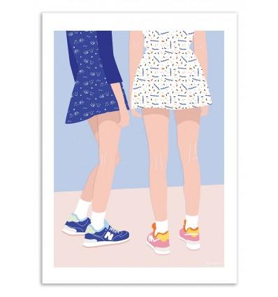 Art-Poster - Girlfriends - Céleste Wallaert