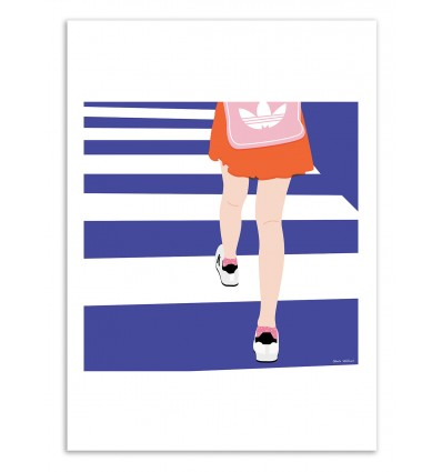 Art-Poster - Road - Céleste Wallaert