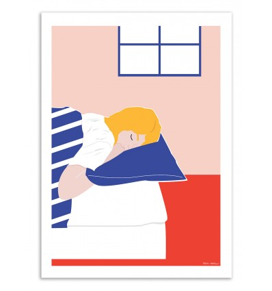 Art-Poster - Sleepy - Céleste Wallaert