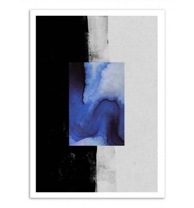 Art-Poster - Blue - Leemo
