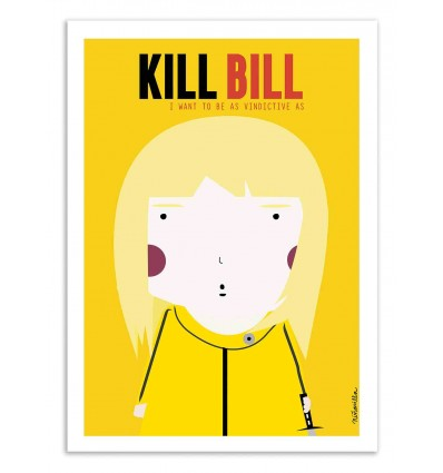 Art-Poster - Kill Bill - Ninasilla