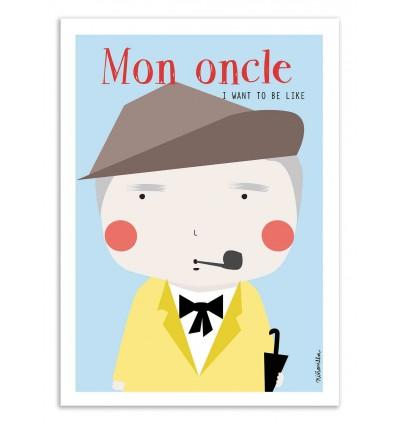Art-Poster - Mon Oncle - Ninasilla