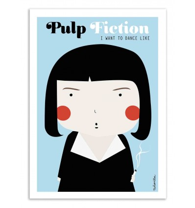 Art-Poster - Pulp Fiction - Ninasilla