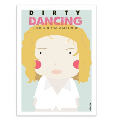 Art-Poster - Dirty Dancing - Ninasilla