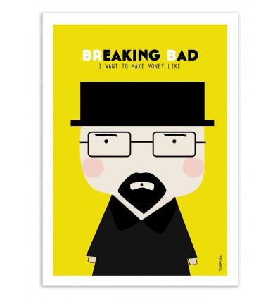 Art-Poster - Breaking Bad - Ninasilla