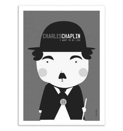 Art-Poster - Charlie Chaplin - Ninasilla