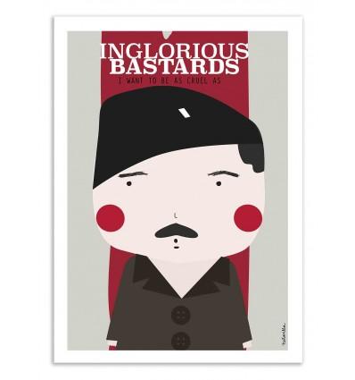 Art-Poster - Inglorious bastards - Ninasilla