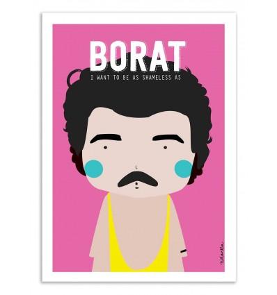 Art-Poster - Borat - Ninasilla