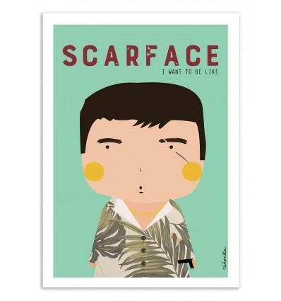 Art-Poster - Scarface - Ninasilla