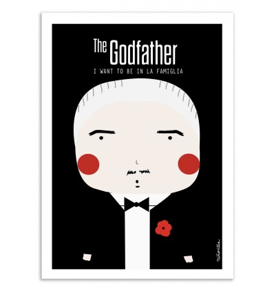 Art-Poster - The Godfather - Ninasilla