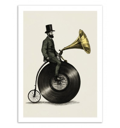Art-Poster - Music Man - Eric Fan