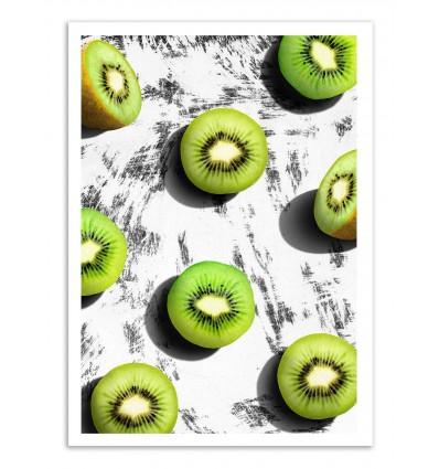 Art-Poster - Kiwi Fruits - Leemo