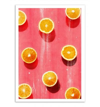 Art-Poster - Orange Fruits - Leemo