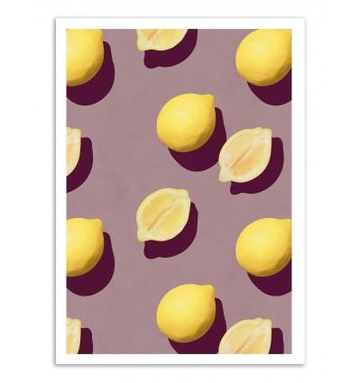Art-Poster - Lemon Fruits - Leemo