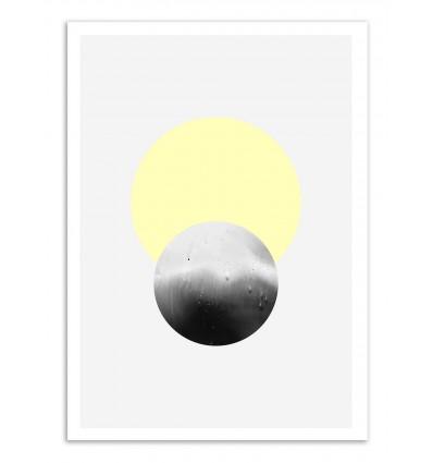 Art-Poster - Sun and Moon - Leemo