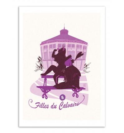 Art-Poster - Filles du calvaire - Julie Olivi - Limited edition 50 ex.