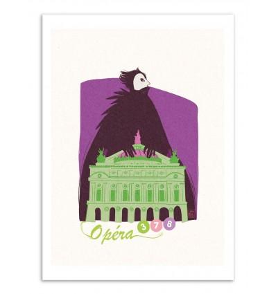 Art-Poster - Opéra - Julie Olivi - Limited edition 50 ex.