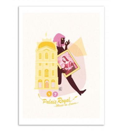 Art-Poster - Palais Royal - Julie Olivi - Limited edition 50 ex.
