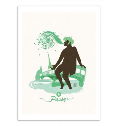 Art-Poster - Passy - Julie Olivi - Limited edition 50 ex.