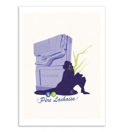Art-Poster - Père Lachaise - Julie Olivi - Limited edition 50 ex.