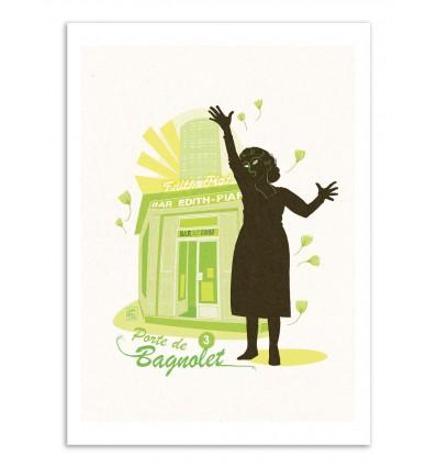 Art-Poster - Porte de Bagnolet - Julie Olivi - Limited edition 50 ex.