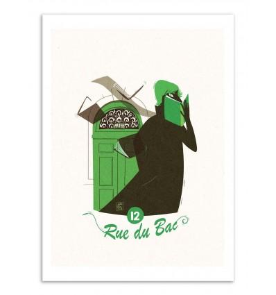 Art-Poster - Rue du Bac - Julie Olivi - Limited edition 50 ex.