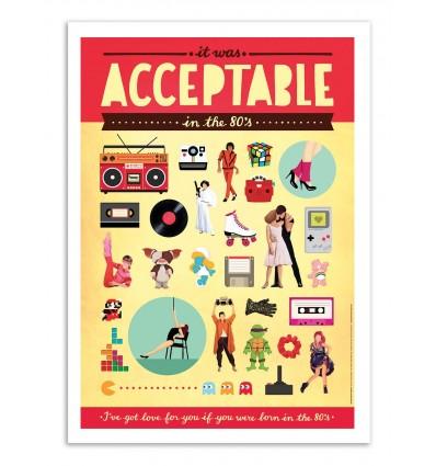 Art-Poster - Acceptable - Nour Tohme