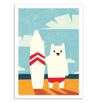 Art-Poster - Surf - Yetiland