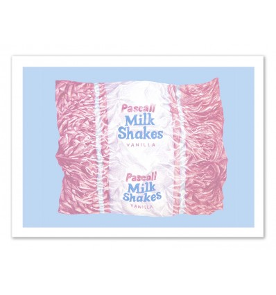 Art-Poster - Milkshake - Laura O'Connor