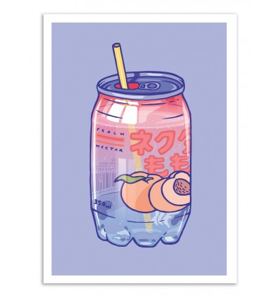 Art-Poster - Peach Soda - Laura O'Connor