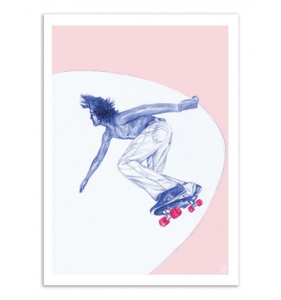 Art-Poster - Skater Bowl - Laura O'Connor