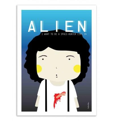 Art-Poster - Alien - Ninasilla