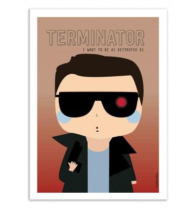 Art-Poster - Terminator - Ninasilla