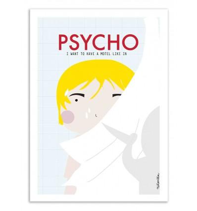Art-Poster - Psycho - Ninasilla