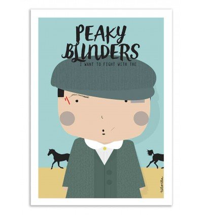 Art-Poster - Peaky Blinders - Ninasilla