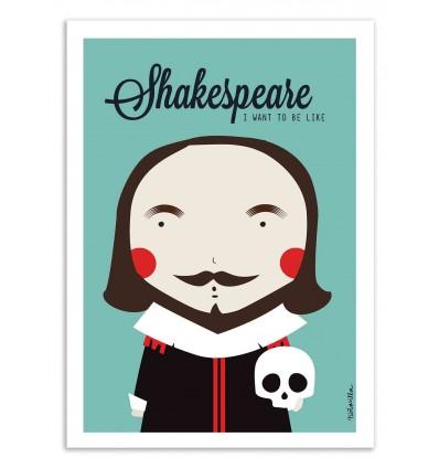Art-Poster - Shakespeare - Ninasilla