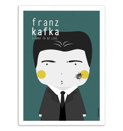 Art-Poster - Franz Kafka - Ninasilla