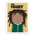 Art-Poster - Bob Marley - Ninasilla